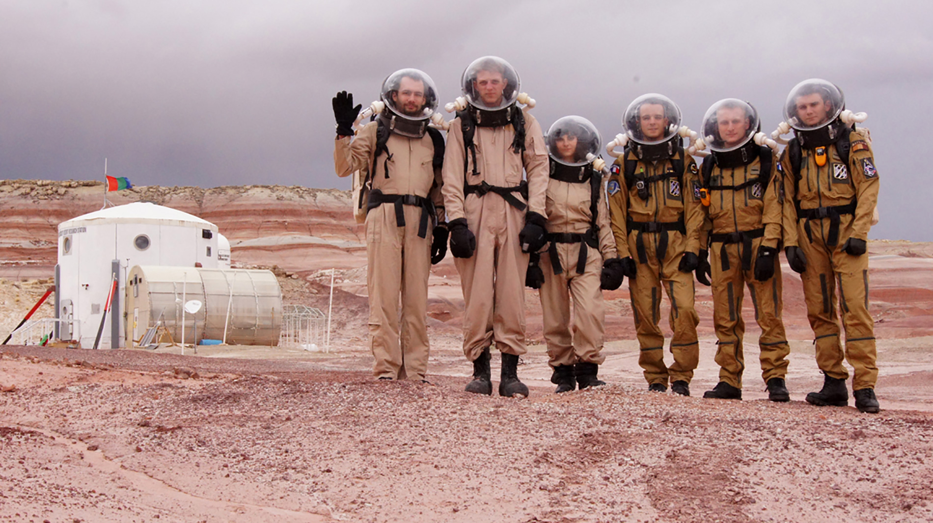 15 days on Mars - crew