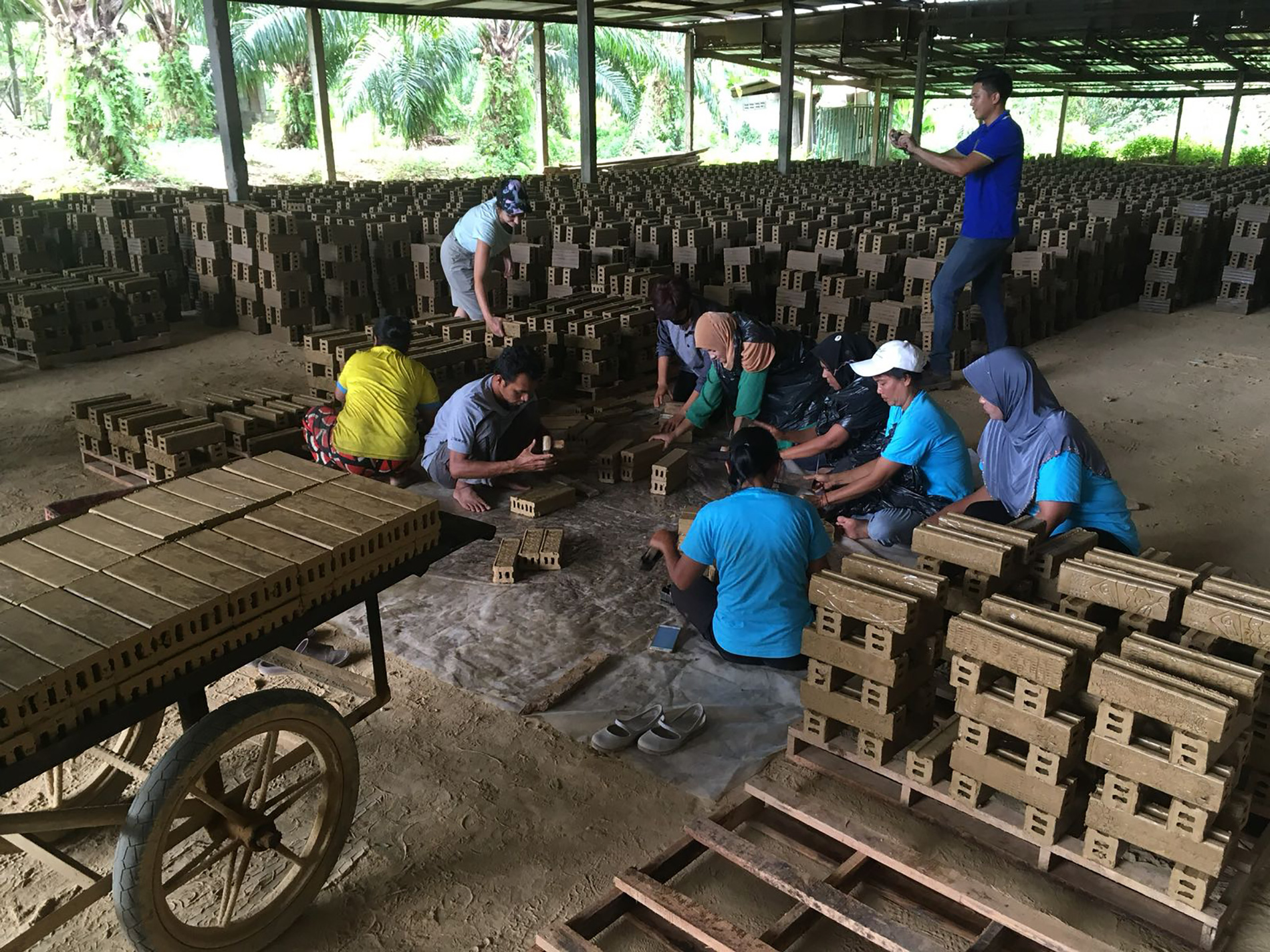 brick factory workshop